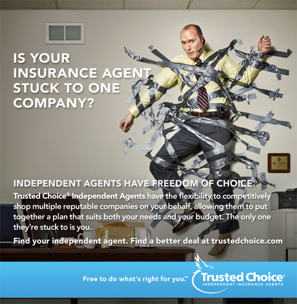 The Frigault Agency, Inc. is a Trusted Choice Independent Agent